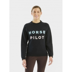 Horse Pilot - Team Sweat-Shirt Femme Rose Blush