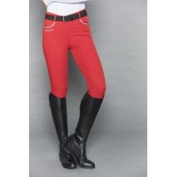 Harcour Femme Pantalon Jaltika Rouge Piment